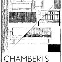 Annons i lokalpressen 1959. Foto Fredrik Chambert