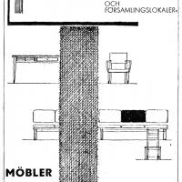 Annons i lokalpressen 1962. Foto Fredrik Chambert