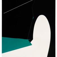 Etretat, 1964, olja på duk, 163x130 cm. Foto Moderna Museet