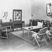 Chambertska firmans 70-årsutställning, Norrköpings Museum 1953. Foto Harald Lönnquist