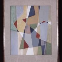 Komposition 6, 1950, gouache, 53x44 cm. Foto Pelle Stackman