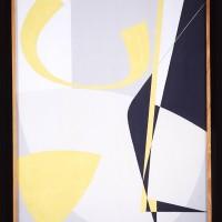 En händelse, Komposition B.O., 1955, gouache, 123x90 cm. Foto Pelle Stackman