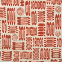 Skyttlarna,1955. Tryckt hos Jobs i fem olika färger. Nytryck 2010 hos Ljungbergs Textilindustri. Till försäljning på Norrköpings Stadsmuseum. Foto Fredrik Chambert